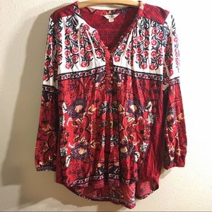 Large Lucky Brand top